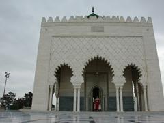Rabat's mausoleum of Mohammed V