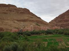 Todra Gorge village