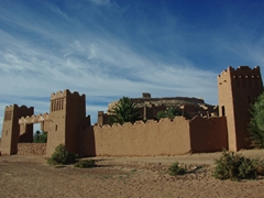 Exterior view of Ait Benhaddou village