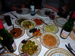 Moroccan dinner; Fes