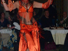 Belly dancer who made Luke's night; Fes
