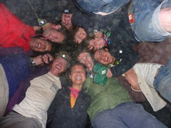 Some crazy nights are inevitable during our bush camps