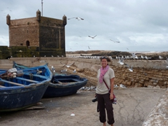 Becky loves the sights and sounds of funky Essaouira