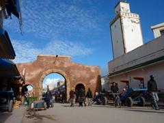 Essaouira main market street