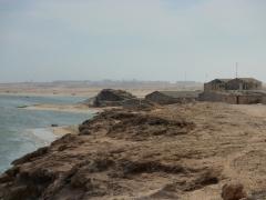Coastline of Nouadhibou