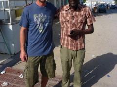 Robby and Bob, the Gambian fisherman