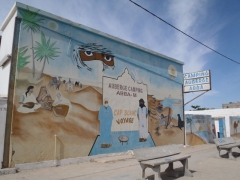 Another camp site in Nouadhibou (Camping Auberge Abba)