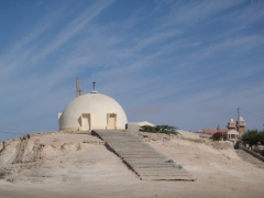 This domed building caught our attention in Nouadhibou