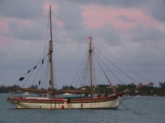 The Isla Mauritia, an 1852 schooner (the world's oldest active one!)