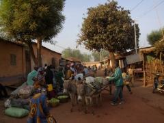 Market scene in Kita