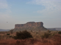 Gorgeous scenery in the Mali countryside