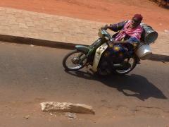 Bamako motorist