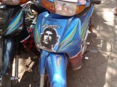 Che Guevara scooter; Bamako