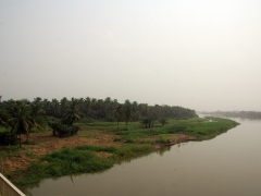 River crossing in Benin