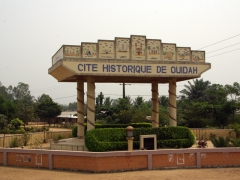 Entrance arch to the city of Ouidah