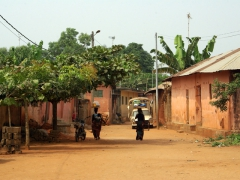We explored Ouidah on foot and really liked the ambience and feel of this former slave city