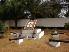 Courtyard view of Sao Joao Batista Fort; Ouidah