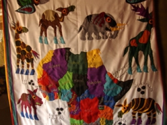 A patch work quilt of the diverse African continent