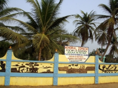The 4 KM slave walk in Ouidah is a must-do. There are numerous monuments and memorials along the way so it makes for an easy Ouidah excursion