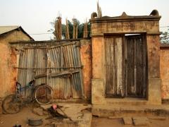 Snapshot of a rustic scene in Ouidah