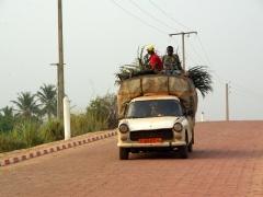 Ouidah street scene