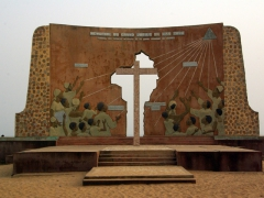 """Door of No Return"" monument; Ouidah"