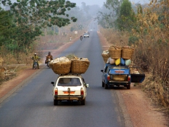 "This gives a new meaning to the word ""overload""; along the road to Ouidah"