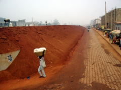 New road being constructed near Ouidah