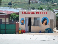 Hair salon in Lubango