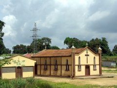 Church near Cabinda