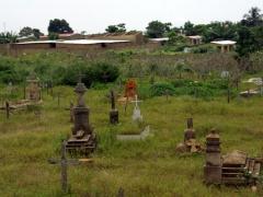 Cabinda graveyard