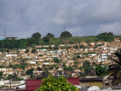 Snapshot of the outskirts of Cabinda