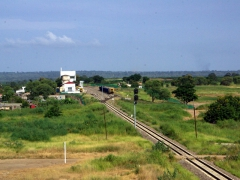 Train tracks near Dondo