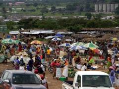 Caima market scene