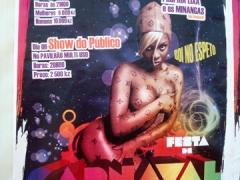 Festa de Carnaval poster; Cabinda