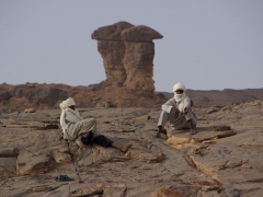 Tuareg carekeepers at Dider