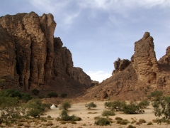 Pretty Essendilene Canyon does not disappoint...it was one of our highlights to Algeria