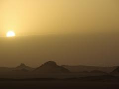 Sun rise; Erg Admer
