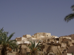View of Ksar El Mihane; Djanet's prettiest ksar