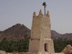 Mosque minaret of Ksar Azellouaz