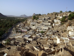 The view from the Imam's balcony in Ksar El Mihane is mesmerizing