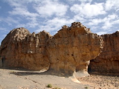 Fantastic rock formations; Jabbaren