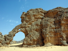 "The aptly named ""Elephant Arch""; Tikobawhen"