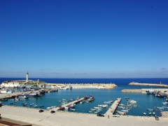 Picturesque port of Cherchell