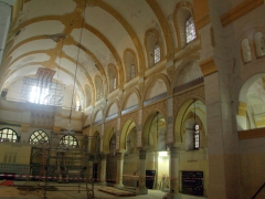 Inside the Djemaa Ketchoua Mosque as it is undergoing renovations; Algiers