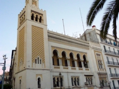 Algiers has fabulous architecture, and some buildings retain an Ottoman feel