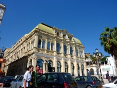 The beautiful theater of Algiers