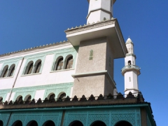 Interesting minarets of a mosque in Algiers