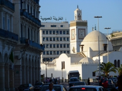 Djemma El-Kebir Mosque at sunset; Algiers