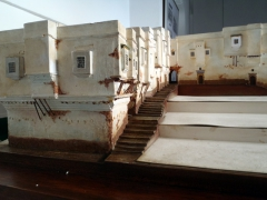 Minature model of Palais Des Rais; Algiers